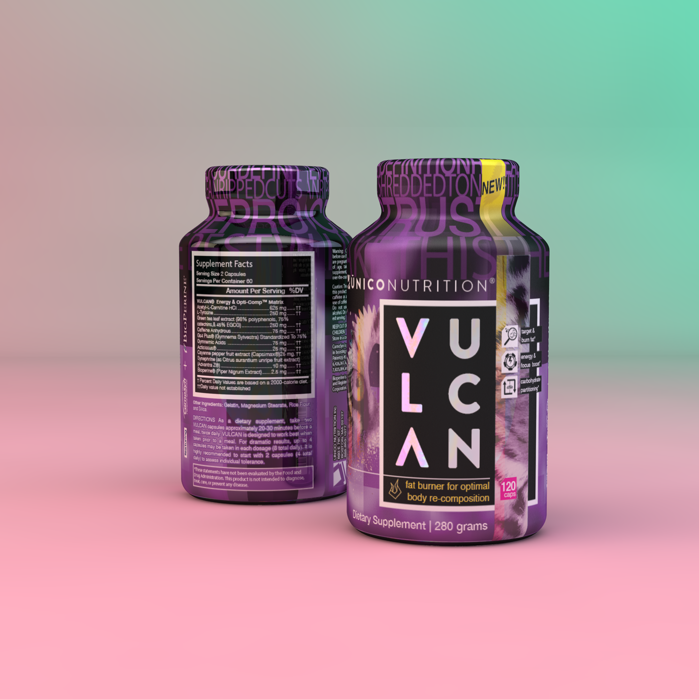 Buy Vulcan Advanced Muscle Toner Rapid Fat Burner