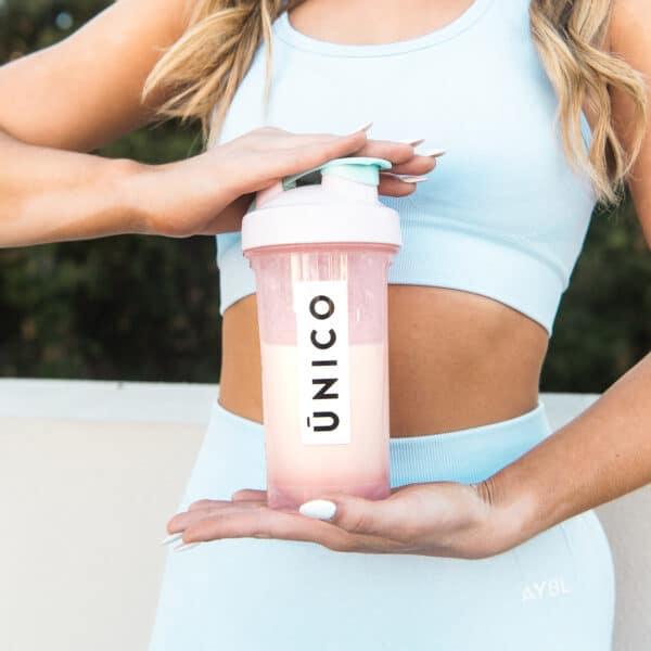 unico cute shaker pink