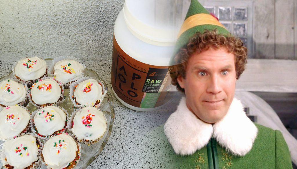 vegan protein cupcakes