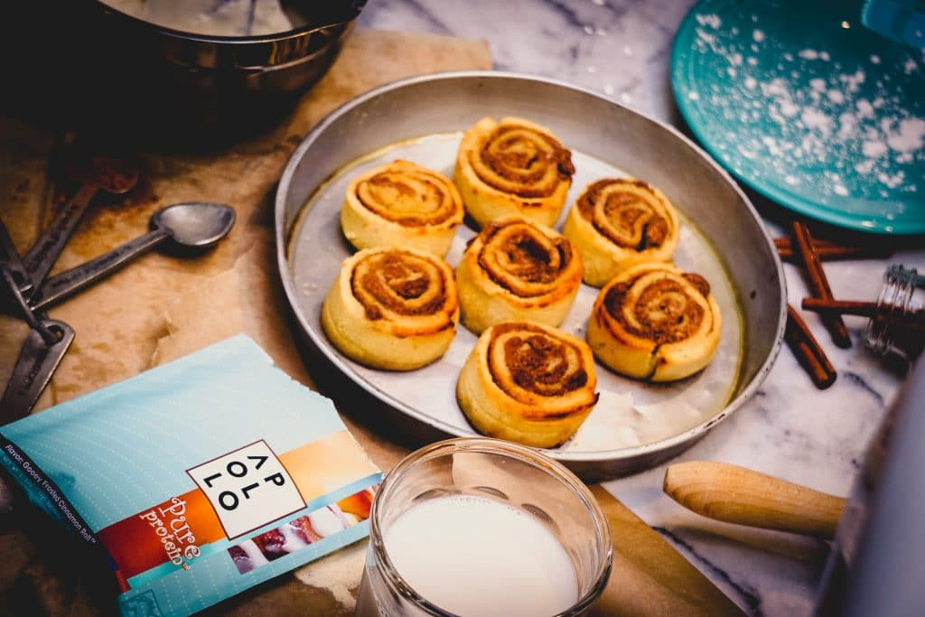 protein cinnamon roll recipe