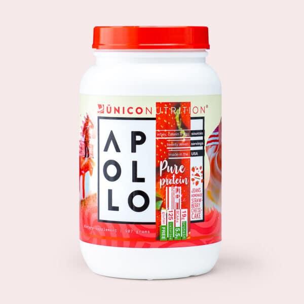 apollo protein stawberry front